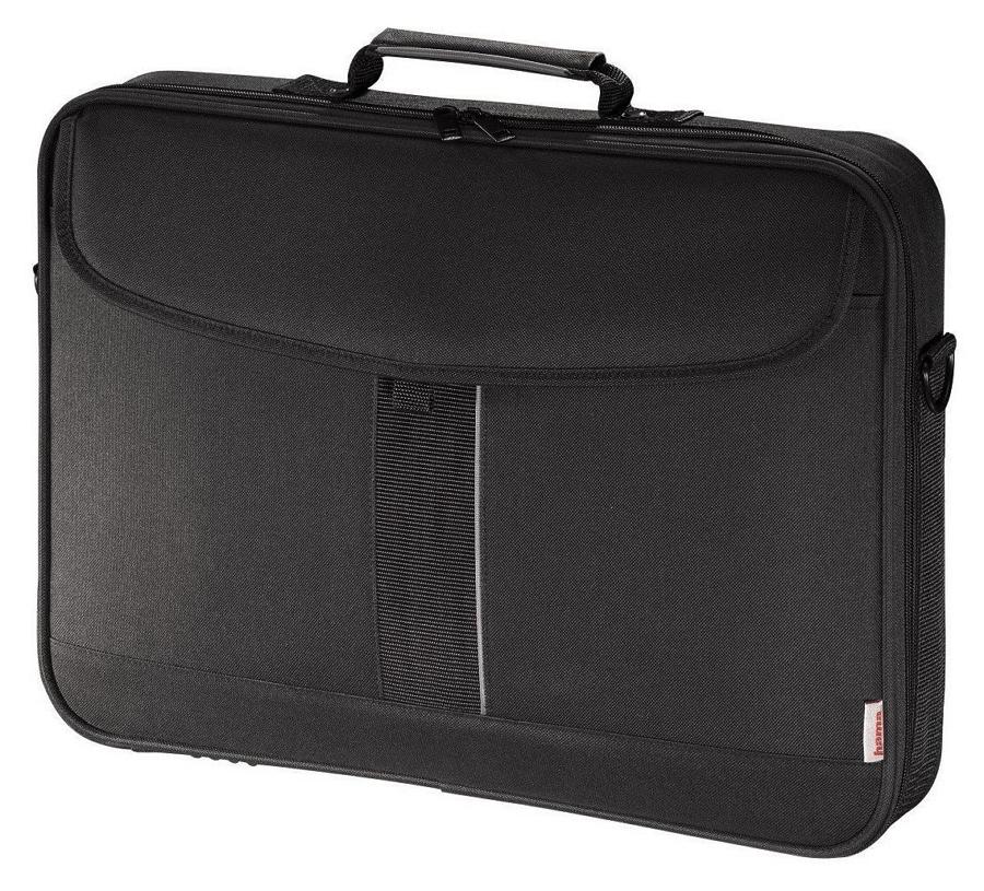 """HAMA Sportsline I 17.3, Black grey - сумка; для устройства с экраном 17.3""""; материал синтетический (политекс) • Основное отделение"""