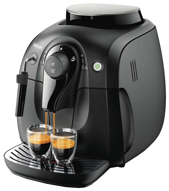 PHILIPS HD8649/01 Black - эспрессо, автоматическое приготовление; кофе - зерновой; нагреватель - бойлер; резервуар 1 л; макс.давление