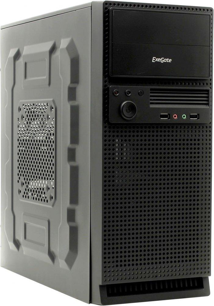 ExeGate TP-210 400W, чёрный/серебро 275311