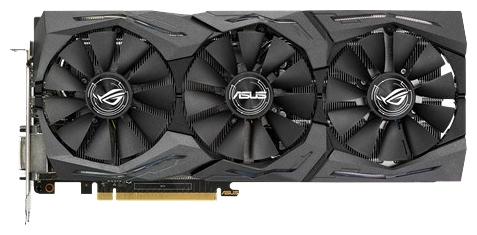 Видеокарта ASUS Radeon RX 480 1310Mhz 8192Mb STRIX-RX480-O8G-GAMING