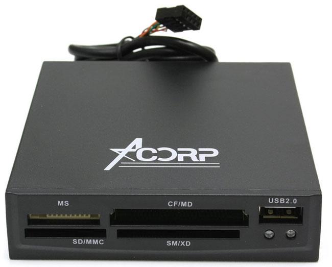 Картридер Acorp CRIP200-B