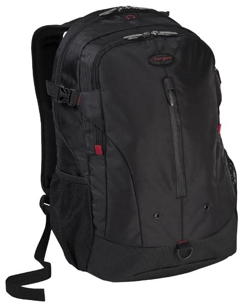 Targus Terra Backpack 16 - рюкзак; отделение-органайзер есть; материал синтетический (полиэстер); черный TSB251EU