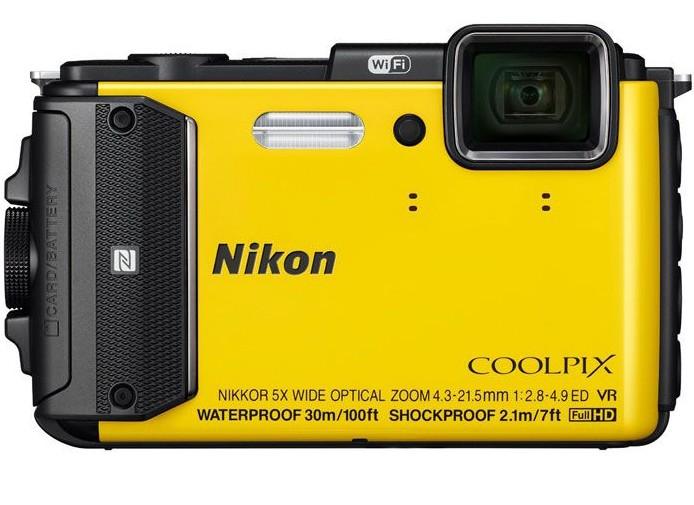 Фотоаппарат Nikon Coolpix AW130, yellow VNA844E1