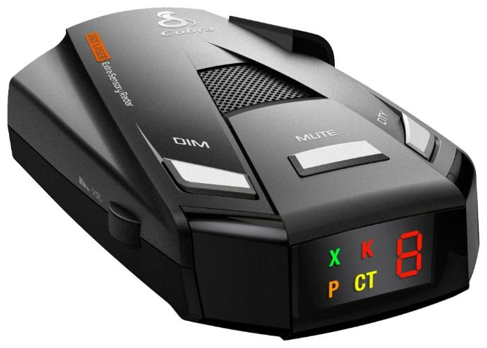 Cobra CT 2750 - POP, режим Город: есть, количество уровней - 2, режим Трасса: есть, отображение информации: светодиодный дисплей