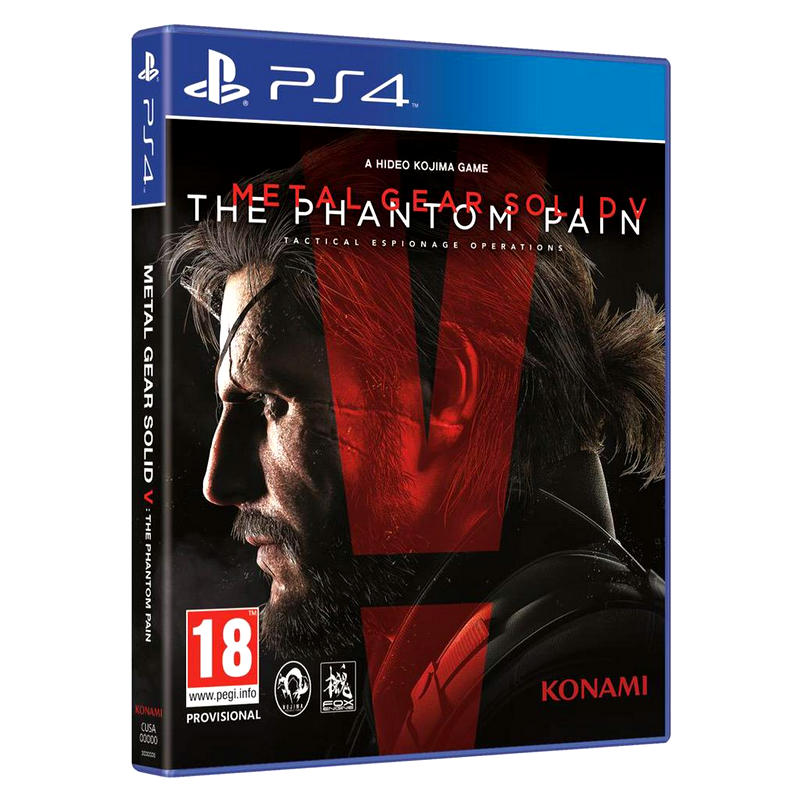 Игра Metal Gear Solid V: The Phantom Pain PS4