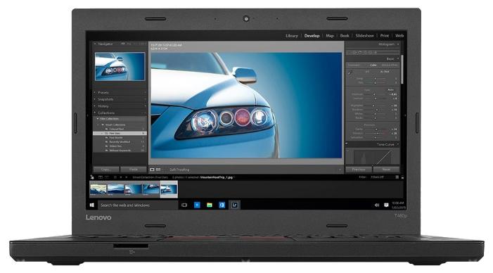 Lenovo ThinkPad T460p (20FW004WRT) - (Intel Core i5 6300HQ 2300 МГц. Экран 14 дюймов, 2560x1440, широкоформатный TFT IPS. ОЗУ 8 Гб DDR4 2133 МГц. Накопители SSD 256 Гб; DVD нет. GPU Intel HD Graphics 530. ОС Windows 10)