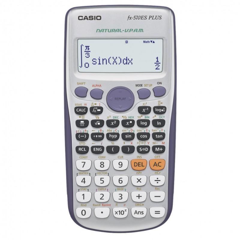 Калькулятор Casio FX-570ESPLUS 10-разрядный, grey