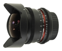 "Samyang MF 8mm T3.8 AS IF UMC Fish-eye CS II VDSLR Canon EF - ""рыбий глаз""; ФР 8 мм; F3.80 • Автофокус нет. SAMYANG MF8T3.8CAN"