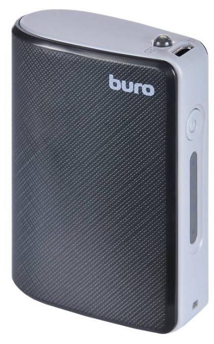 Аккумуляторная батарея Buro RQ-5200 black/dark grey