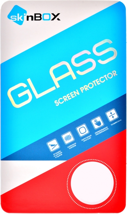 Стекло защитное skinBOX для Samsung J1 (2016) (0.3mm 2.5D), глянцевое SP-246