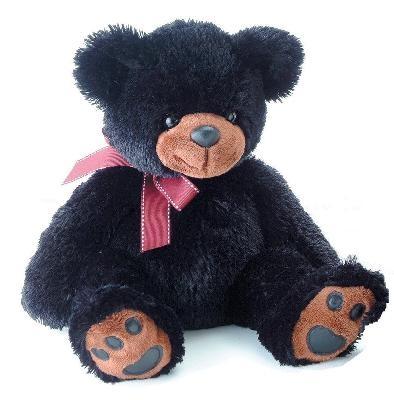 Мягкая игрушка Aurora Медведь 70 см, black