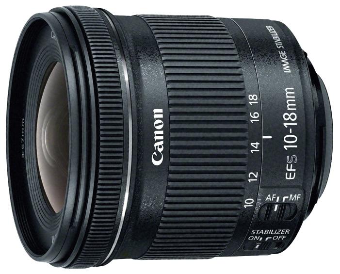 Фотообъектив Canon EF-S 10-18mm f/4.5-5.6 IS STM 9519B005