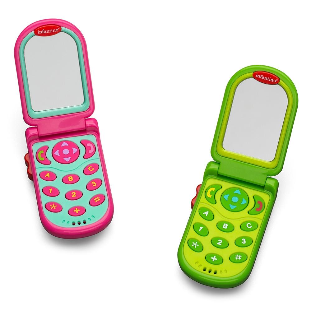 Развивающая игрушка Infantino Розовый Телефон