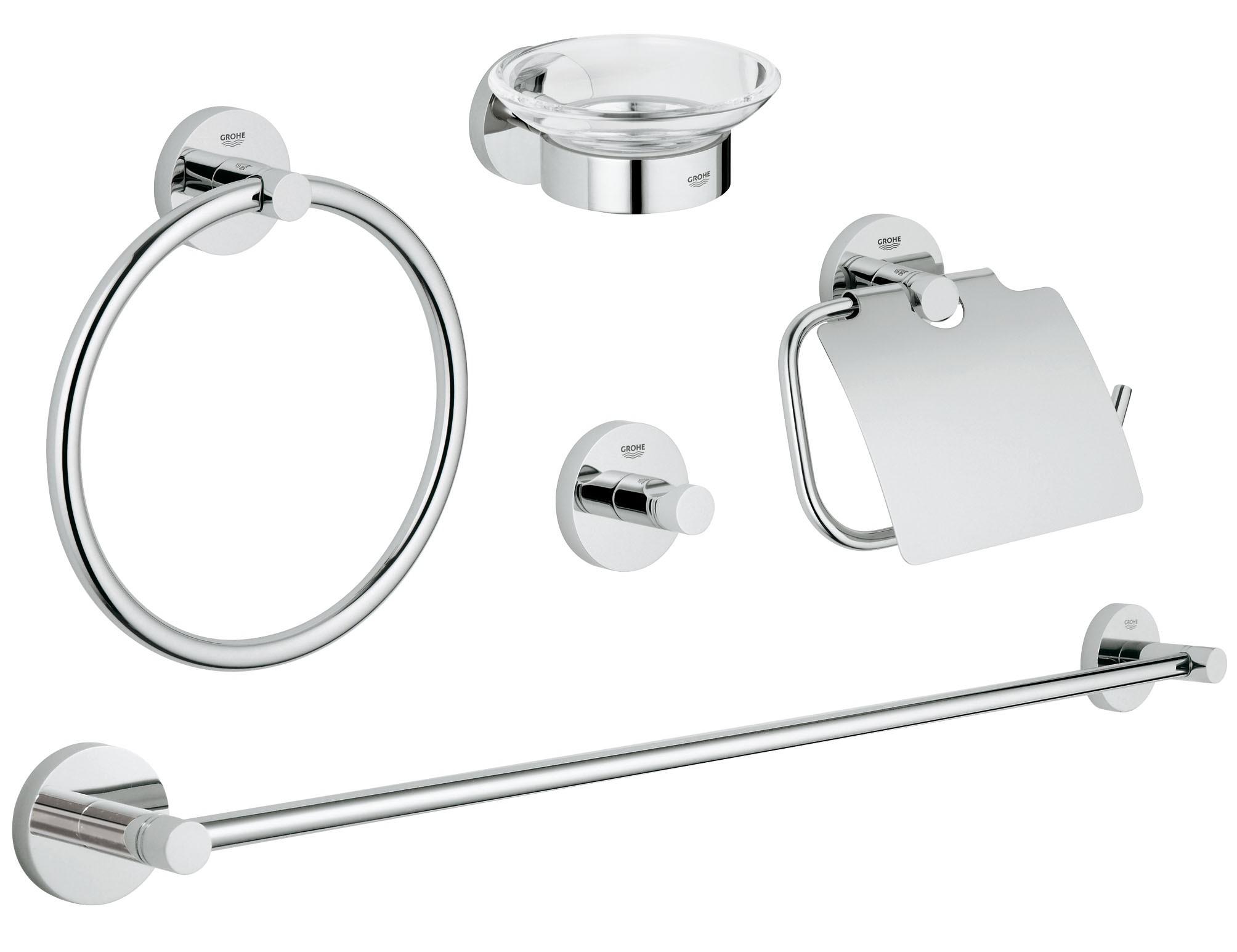 Grohe 40344001 Essentials (5 предметов), хром (40344001)