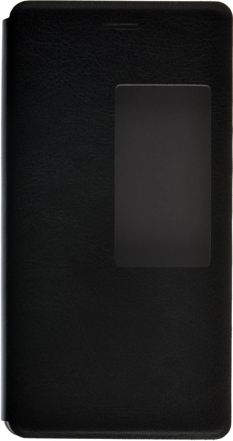 skinBOX для Huawei P8 T-S-HP8-004 Black - (Huawei P8; поликарбонат и экокожа)