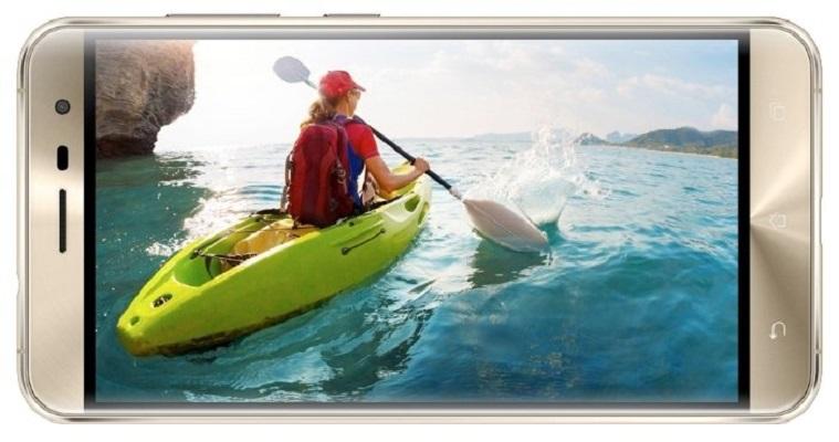 Asus ZenFone 3 (ZE552KL-1G055RU) 4 ГБ / 64 ГБ gold - (; GSM 900/1800/1900, 3G, 4G LTE, LTE-A Cat. 6; SIM-карт 2; Qualcomm Snapdragon 625 MSM8953, 2000 МГц; RAM 4 Гб; ROM 64 Гб; 3000 мАч; 16 млн пикс., светодиодная вспышка; есть, 8 млн пикс.; датчики - освещенности, приближения, Холла, гироскоп, компас, считывание отпечатка пальца)