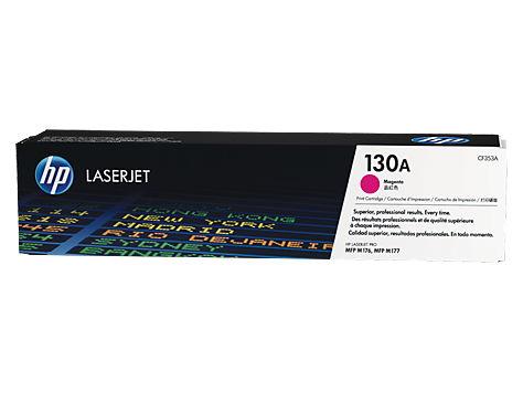 Картридж лазерный Hewlett-Packard HP 130A Magenta CF353A