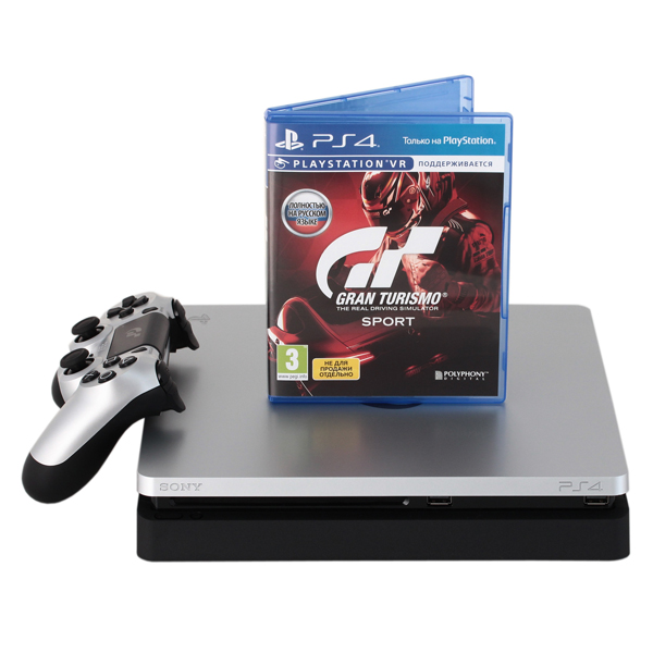 Игровая приставка Sony PlayStation 4 Slim 1 ТБ Gran Turismo Sport (CUH-2108B), Special Edition