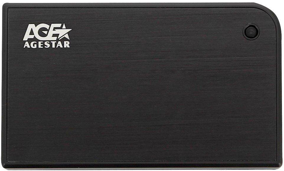 Корпус для жесткого диска HDD AgeStar 3UB2A14 Black