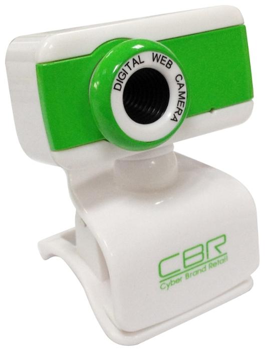 CBR CW 832M, Green - 1280x1024, 2560x2048 (интерполированное); 1.3 млн пикс., CMOS; микрофон встроенный; фокусировка ручная; USB 2