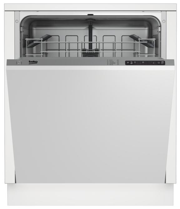 Встраиваемая посудомоечная машина Beko DIN15210, white