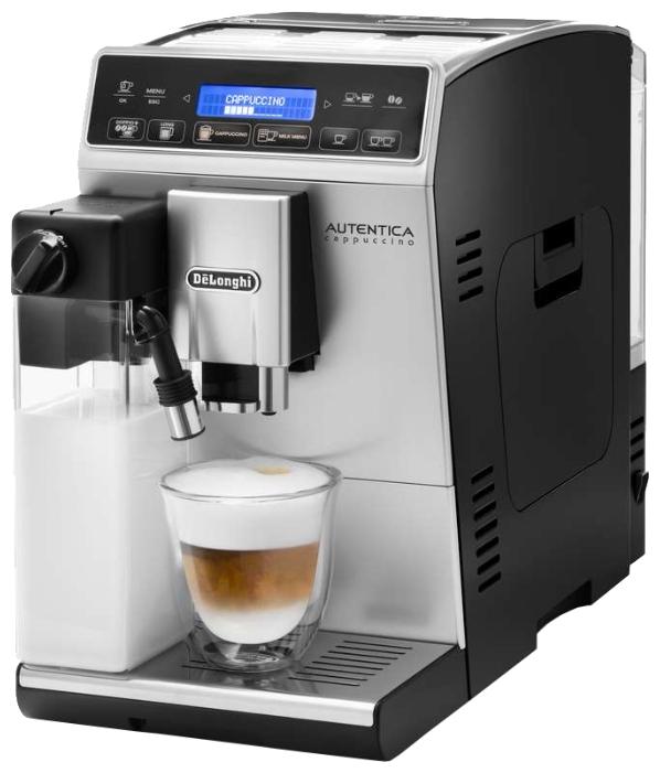 Delonghi ETAM 29.660 SB - эспрессо, автоматическое приготовление; кофе - молотый / зерновой; резервуар 1.4 л; макс.давление 15 бар