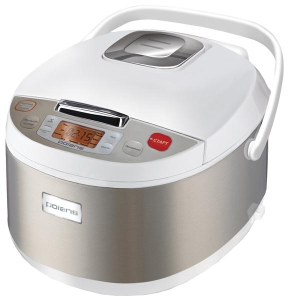 Polaris PMC 0510AD - (Объем 5 л; 700 Вт; управление электронное • автопрограммы 9, включая: выпечка, каша, крупа, тушение, приготовление на пару, плов, жарка, паста)