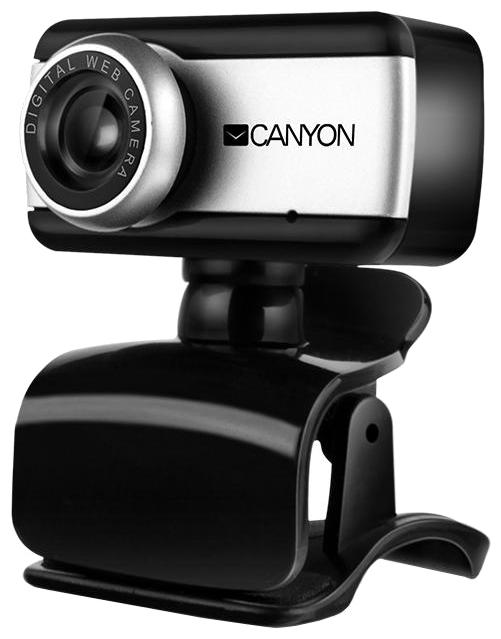 Canyon CNE-HWC1 - 640x480; 0.3 млн пикс., CMOS; микрофон встроенный; фокусировка ручная; USB 2.0; поворот 360 град. SUCNEHWC1