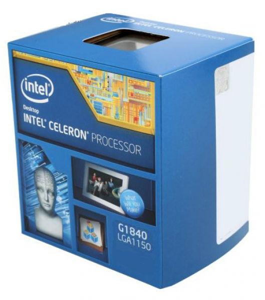 Процессор Intel Celeron G1840 Haswell (2800MHz, LGA1150, L3 2048Kb), BOX