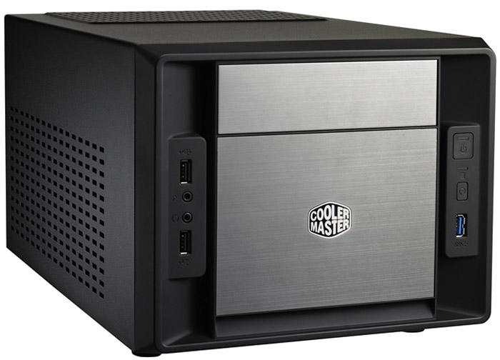 Корпус для компьютера Cooler Master Elite 120 (RC-120A-KKN1) w/o PSU Black