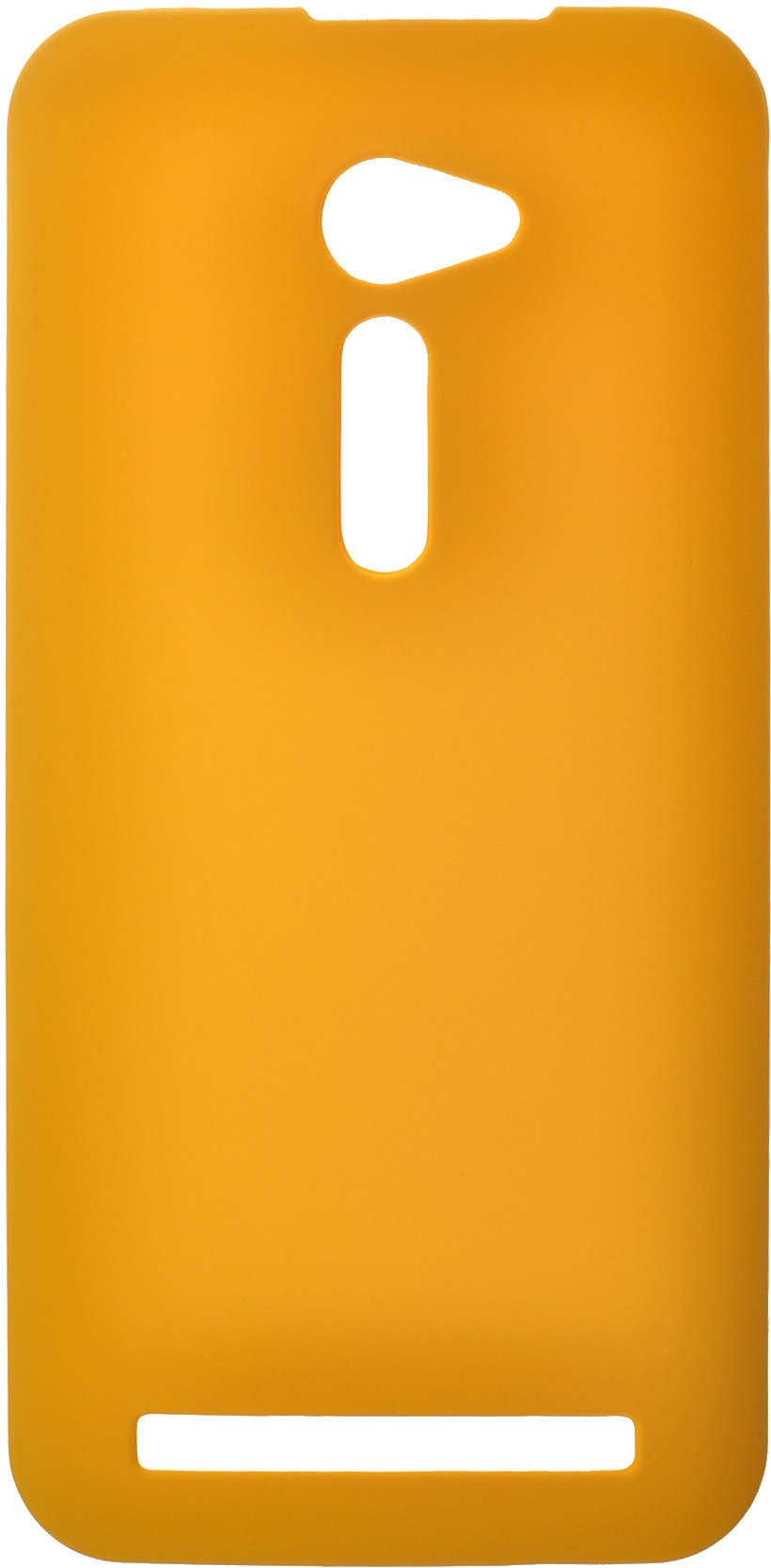 """SkinBox для Asus ZenFone 2 (ZE500CL) Yellow + защитная пленка - (Asus Zenfone 2 ZE500CL; 5 """")"""