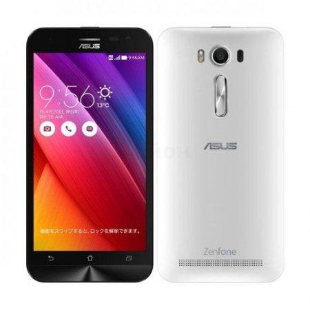 Asus ZenFone 2 Laser ZE550KL 32Gb, White - (Android 5.0; GSM 900/1800/1900, 3G, 4G LTE, LTE-A Cat. 4; SIM-карт 2 (Micro SIM); Qualcomm Snapdragon 410 MSM8916, 1200 МГц; RAM 2 Гб; ROM 32 Гб; 3000 мАч; 13 млн пикс., светодиодная вспышка; есть, 5 млн пикс.; датчики - освещенности, приближения, гироскоп, компас)