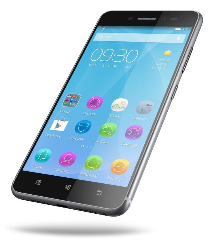 Lenovo Sisley S90 32Gb, Graphite Grey - (Android 4.4; GSM 900/1800/1900, 3G, LTE, LTE Advanced Cat. 4; SIM-карт 2 (Micro SIM); Qualcomm Snapdragon 410 MSM8916, 1200 МГц; RAM 2 Гб; ROM 32 Гб; 2300 мАч; 13 млн пикс., светодиодная вспышка (фронтальная и тыльная); есть, 8 млн пикс.; датчики - освещенности, приближения)