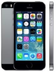 Apple iPhone 5S 16Gb Space Grey - (iOS 7; GSM 900/1800/1900, 3G, LTE; SIM-карт 1 (nano SIM); Apple A7, 1300 МГц; RAM 1 Гб; ROM 16 Гб; 1560 мАч; 8 млн пикс., 3264x2448, светодиодная вспышка; есть, 1.2 млн пикс.; датчики - освещенности, приближения, гироскоп, компас, считывание отпечатка пальца)