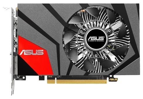 ASUS Radeon R7 360 2048Mb - AMD Radeon R7 360, 28 нм, 1000 МГц, 2048 Мб GDDR5@6000 МГц 128 бит, TDP 190 Вт • Разъёмы: DVI-I, поддержка