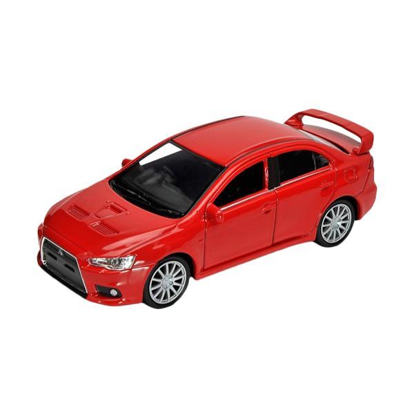 Радиоуправляемая игрушка Welly Mitsubishi Lancer Evolution X, red