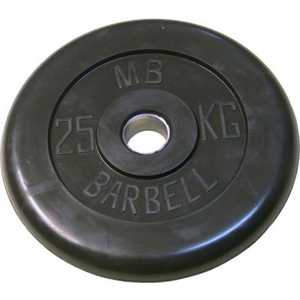 MB Barbell 25�� (� 25��) black