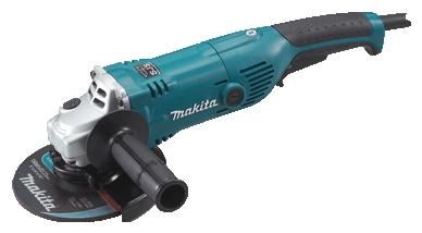 Makita GA6021C - (угловая; 1450 Вт; до 9000 об/мин; диам.диска до 150 мм; питание бытовая электросеть; провод 2.5 м)