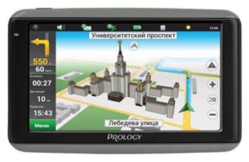 Prology iMap-7100 - (экран 7 дюйм., LCD-цветной, 800x480 пикс., сенсорный - есть; загрузка карт - есть; ПО - Навител • USB, Micro SD)