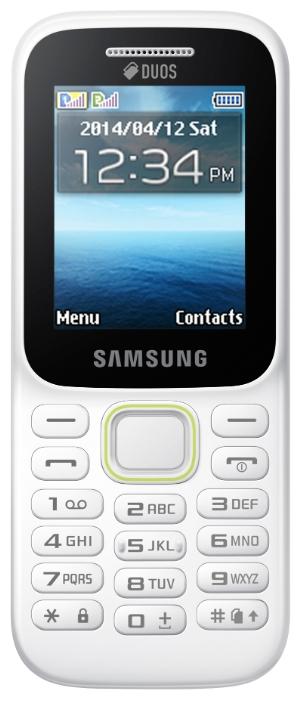 Samsung SM-B310E White - (2 дюйм., 128x160, microSD (TransFlash), объемом до 16 Гб, кол-во SIM-карт: 2)