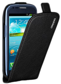 Фотография: Чехол Deppa Flip Cover для Samsung Galaxy S3 mini i8190 Black - Samsung Galaxy S3, 4""