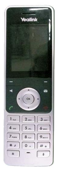 Дополнительная трубка для VoIP-телефона Yealink W56H, есть определитель номера, время работы в режиме разговора 30 ч