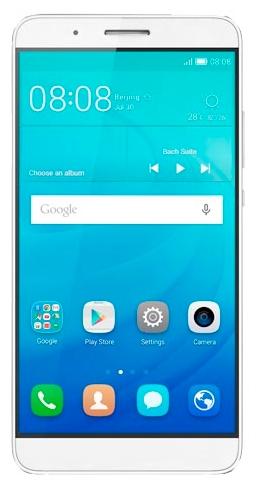 Huawei SHOTX White - (Android 5.1; GSM 900/1800/1900, 3G, 4G LTE; SIM-карт 1; Qualcomm Snapdragon 615 MSM8939, 1500 МГц; RAM 2 Гб; ROM 16 Гб; 3090 мАч; 13 млн пикс., светодиодная вспышка; датчики - освещенности, приближения, компас, считывание отпечатка пальца)