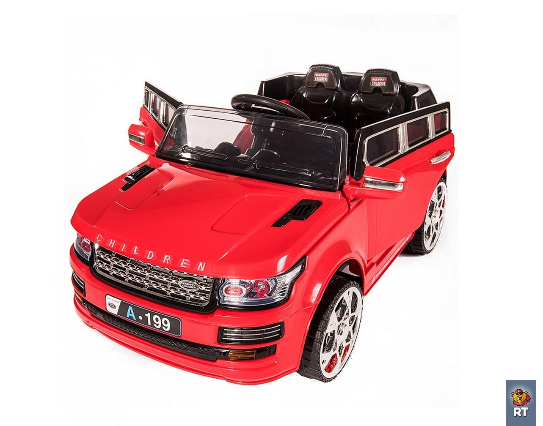 RT Land Rover Ralf 1 Красный - возраст от 1 года