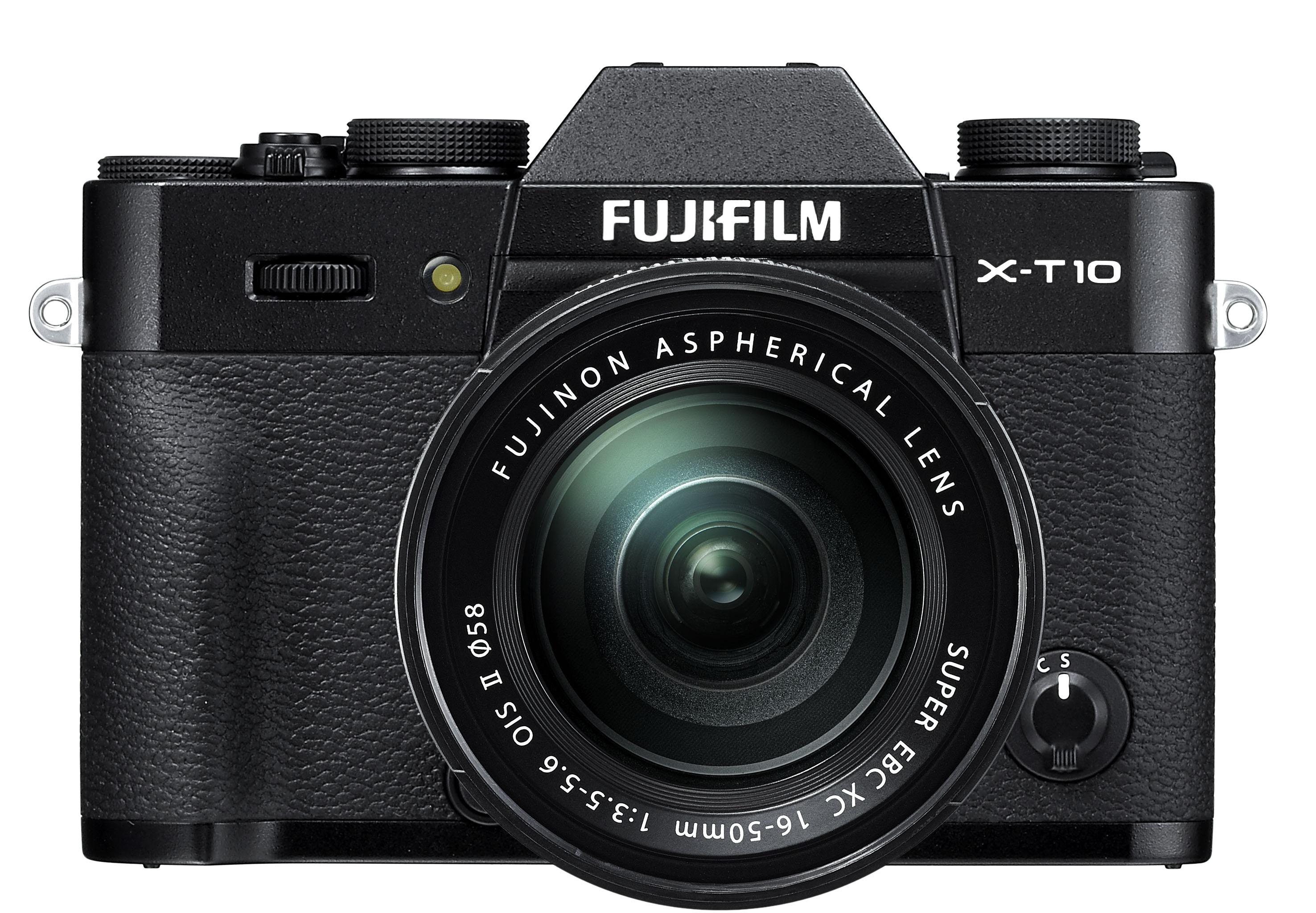 Fujifilm F X-T10 16-50 Kit, black - (16.7 млн, 1920x1080, 8 кадр./сек, 920000 точек, 3 дюйма)