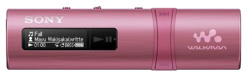 Sony Walkman NWZ-B183F, pink - (Экран - LCD монохромный; 4 Гб; USB 2.0 (прямое подключение))