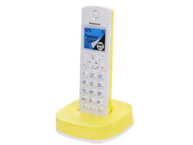 Радиотелефон DECT Panasonic KX-TGС310RUY Yellow/White KX-TGC310RUY