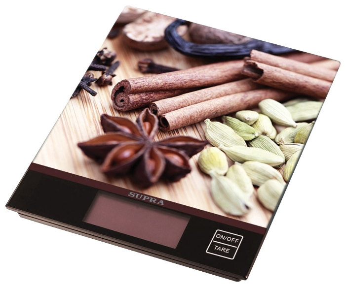 Весы кухонные Весы SUPRA BSS-4097 Brown