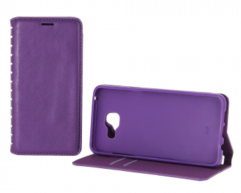 Чехол-книжка Book Case New для Samsung Galaxy J7 с визитницей purple