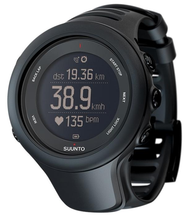 Смарт-часы Suunto Ambit3 Sport HR Black AMBIT3 SPORT Black HR